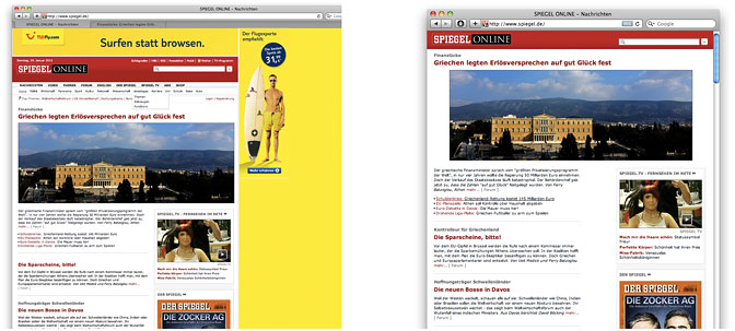 SPIEGEL Online reimagined