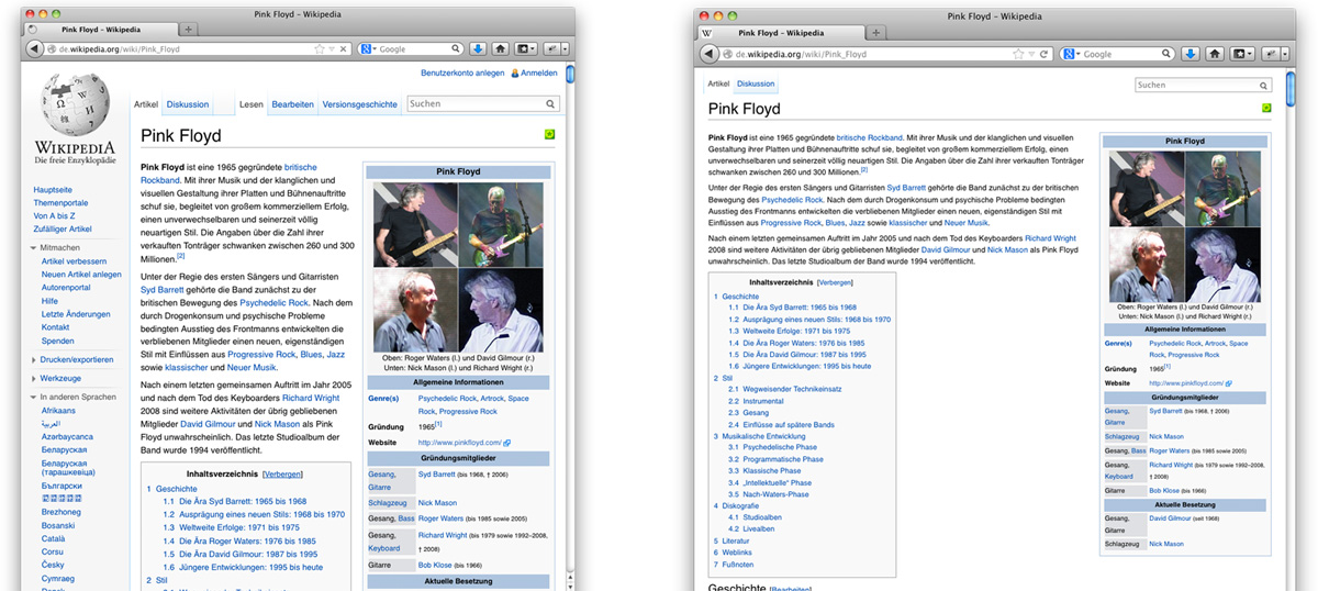 template wikipedia